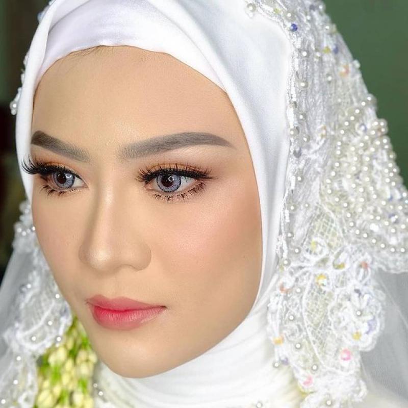 #alhamdulillah 💫 Teteh @reniya_ 💖 #samawa #makeupakad