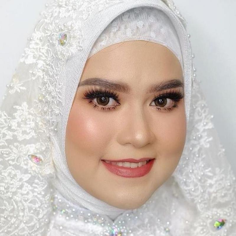 Akad Kania💝 #alhamdulillahhallal  #samawa💖 #makeupakad @kikyrahmadini.makeup